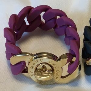 Marc Jacobs Silicone Turnlock Bracelet